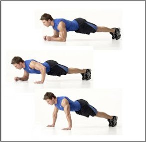 Spartacus Workout Planking
